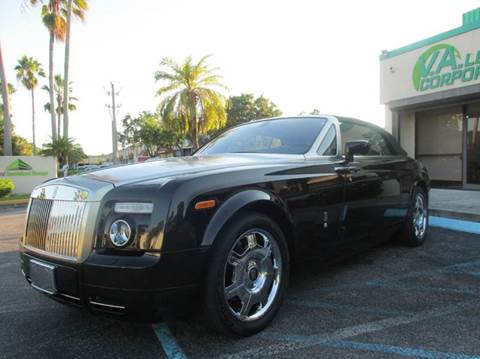 2008 Rolls-Royce Phantom Drophead Coupe for sale at VA Leasing Corporation in Doral FL