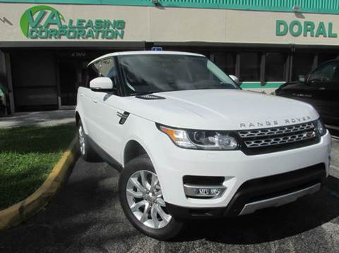 2015 Land Rover Range Rover Sport for sale at VA Leasing Corporation in Doral FL
