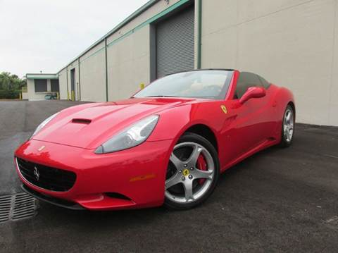 2010 Ferrari California for sale at VA Leasing Corporation in Doral FL