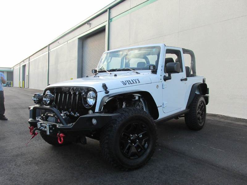 2015 Willys Jeep >> 2015 Jeep Wrangler Willys Wheeler Edition 4x4 2dr Suv In Doral Fl