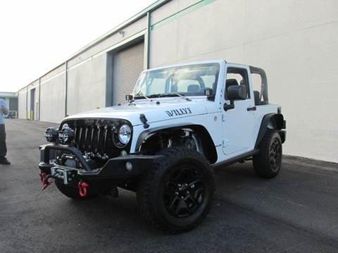 2015 Jeep Wrangler for sale at VA Leasing Corporation in Doral FL