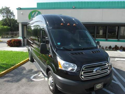 2016 Ford Transit Wagon for sale at VA Leasing Corporation in Doral FL