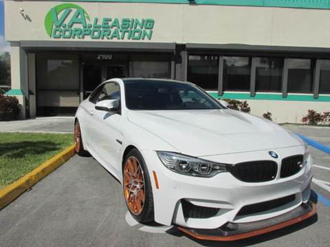 2016 BMW M4 for sale at VA Leasing Corporation in Doral FL