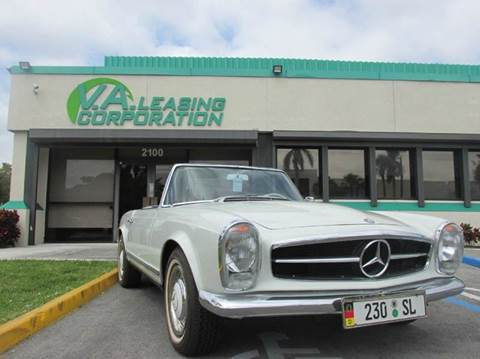 1964 Mercedes-Benz 230 SL for sale at VA Leasing Corporation in Doral FL