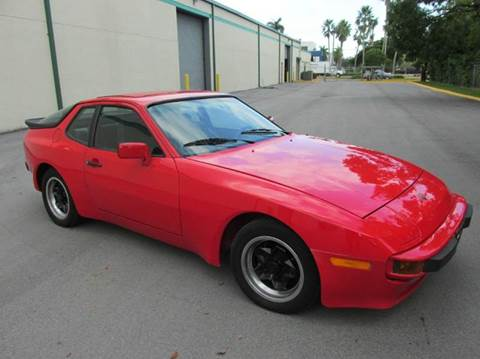 1983 Porsche 944 for sale at VA Leasing Corporation in Doral FL