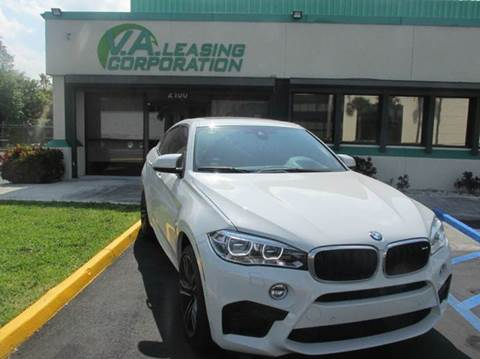 2016 BMW X6 M for sale at VA Leasing Corporation in Doral FL