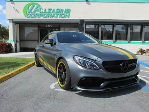2017 Mercedes-Benz C-Class for sale at VA Leasing Corporation in Doral FL