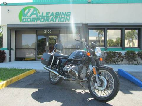 1983 BMW R 100 for sale at VA Leasing Corporation in Doral FL