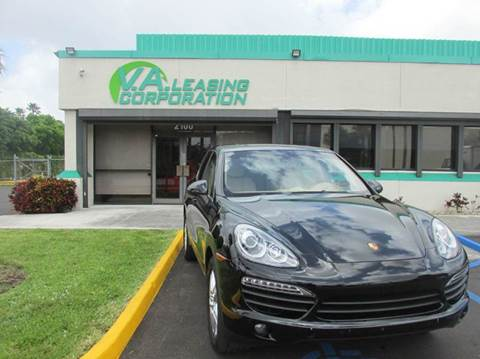 2013 Porsche Cayenne for sale at VA Leasing Corporation in Doral FL
