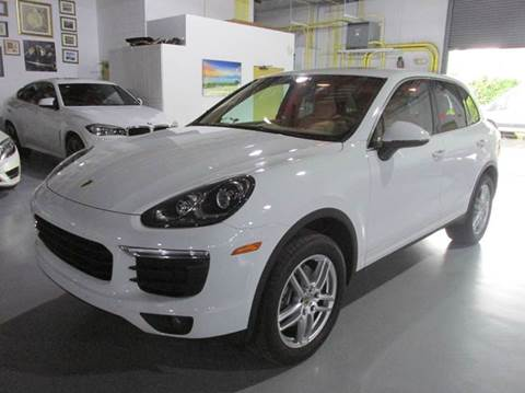 2016 Porsche Cayenne for sale at VA Leasing Corporation in Doral FL