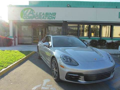 2017 Porsche Panamera for sale at VA Leasing Corporation in Doral FL
