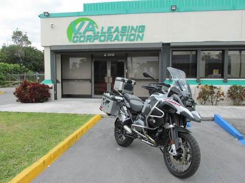 2016 BMW R 1200 GS ADVENTURE for sale at VA Leasing Corporation in Doral FL