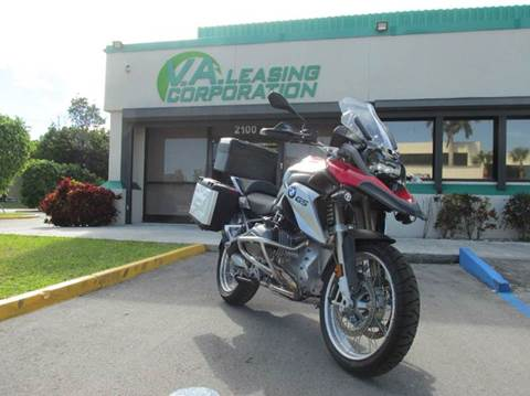 2016 BMW R 1200 GS for sale at VA Leasing Corporation in Doral FL
