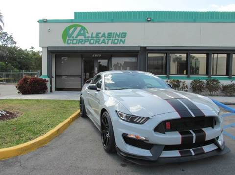 2016 Ford Mustang for sale at VA Leasing Corporation in Doral FL