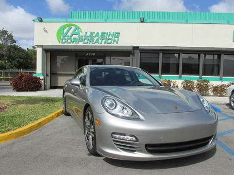 2013 Porsche Panamera for sale at VA Leasing Corporation in Doral FL