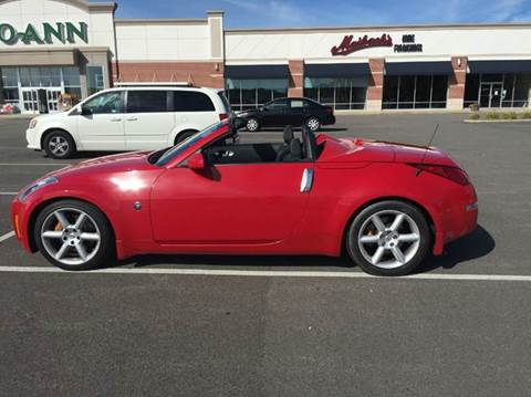 2005 Nissan 350Z for sale at Renaissance Auto Network in Warrensville Heights OH