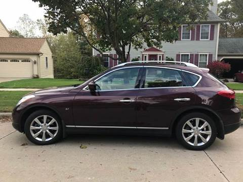 2015 Infiniti QX50 for sale at Renaissance Auto Network in Warrensville Heights OH