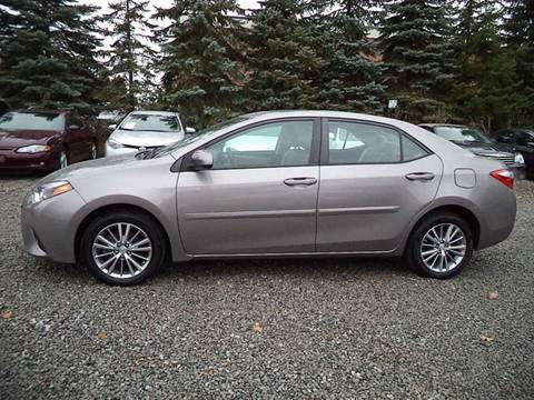 2014 Toyota Corolla for sale at Renaissance Auto Network in Warrensville Heights OH