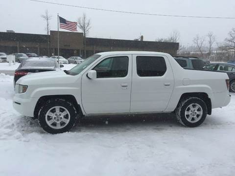 2008 Honda Ridgeline for sale at Renaissance Auto Network in Warrensville Heights OH
