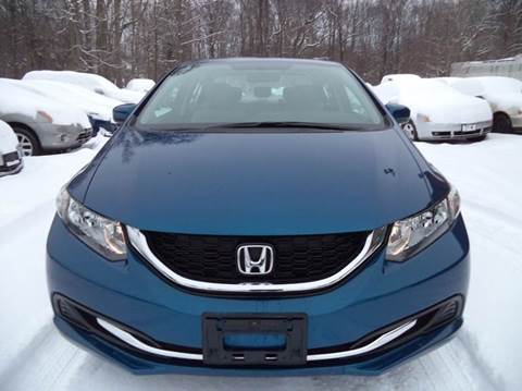 2015 Honda Civic for sale at Renaissance Auto Network in Warrensville Heights OH