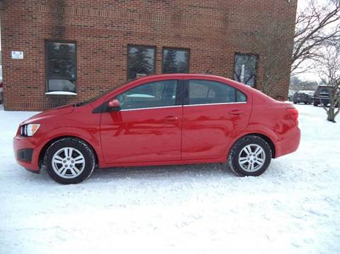 2012 Chevrolet Sonic for sale at Renaissance Auto Network in Warrensville Heights OH