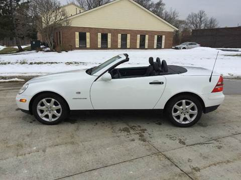 1998 Mercedes-Benz SLK for sale at Renaissance Auto Network in Warrensville Heights OH