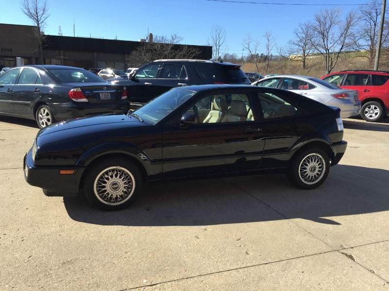 1992 Volkswagen Corrado for sale at Renaissance Auto Network in Warrensville Heights OH