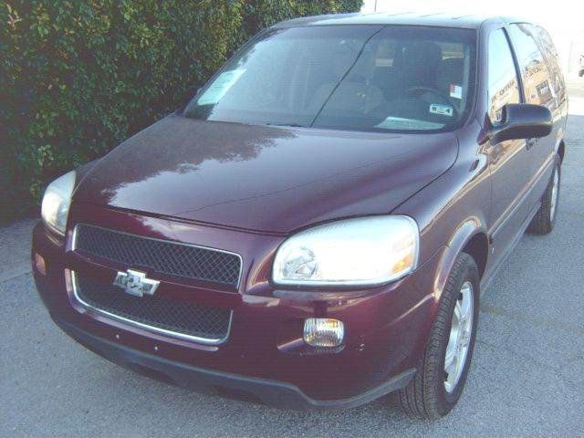 2007 Chevrolet Uplander LS 4dr Ext Minivan   San Angelo TX