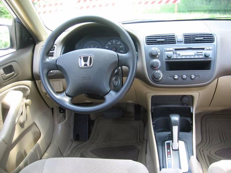 2004 Honda Civic Value Package 4dr Sedan w/Side Airbags - Muskego WI