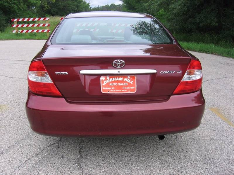 2004 Toyota Camry LE 4dr Sedan - Muskego WI