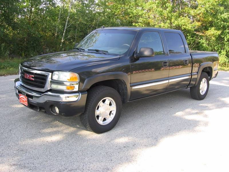 2004 gmc sierra 1500 4dr crew cab sle 4wd sb in muskego wi. Black Bedroom Furniture Sets. Home Design Ideas
