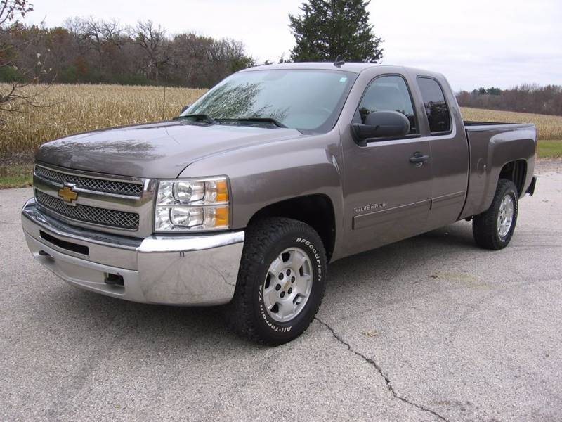 2013 chevrolet silverado 1500 4x4 lt 4dr extended cab 6 5 ft sb in muskego wi durham hill auto. Black Bedroom Furniture Sets. Home Design Ideas