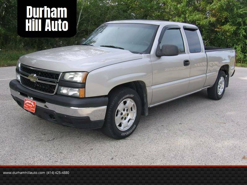 2007 Chevrolet Silverado 1500 Work Truck 4dr Extended Cab 4wd 6 5 Ft