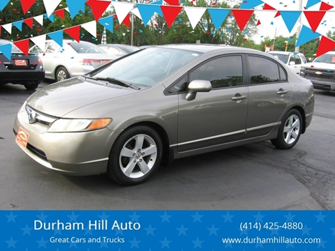2007 Honda Civic for sale in Muskego, WI