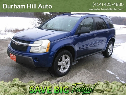 2005 Chevrolet Equinox LT for sale at Durham Hill Auto in Muskego WI