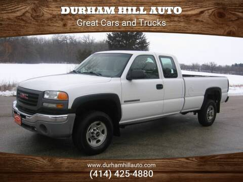 2006 GMC Sierra 2500HD Work Truck for sale at Durham Hill Auto in Muskego WI
