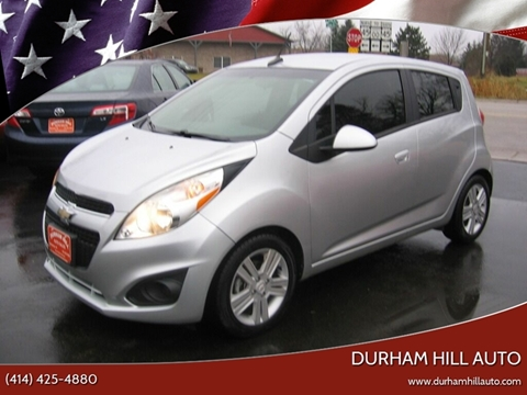 2014 Chevrolet Spark 1LT CVT for sale at Durham Hill Auto in Muskego WI