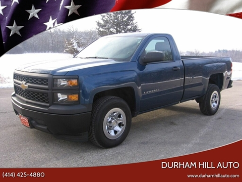 2015 Chevrolet Silverado 1500 Work Truck for sale at Durham Hill Auto in Muskego WI