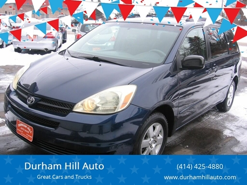 2005 Toyota Sienna LE 7 Passenger for sale at Durham Hill Auto in Muskego WI