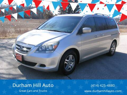 2005 Honda Odyssey for sale at Durham Hill Auto in Muskego WI