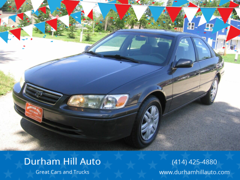 2000 Toyota Camry for sale at Durham Hill Auto in Muskego WI
