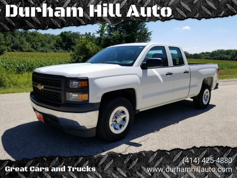 2015 Chevrolet Silverado 1500 for sale at Durham Hill Auto in Muskego WI