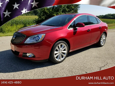 2015 Buick Verano for sale at Durham Hill Auto in Muskego WI
