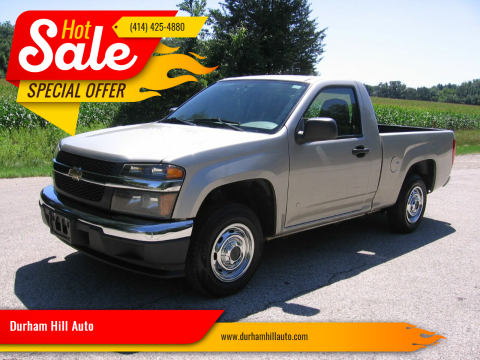 2008 Chevrolet Colorado for sale at Durham Hill Auto in Muskego WI