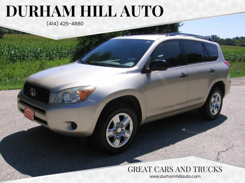 2007 Toyota RAV4 for sale at Durham Hill Auto in Muskego WI