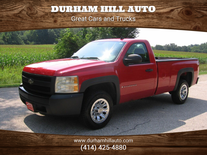 2007 Chevrolet Silverado 1500 for sale at Durham Hill Auto in Muskego WI