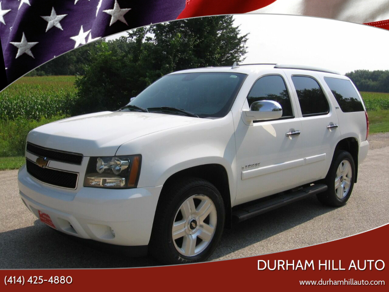 2007 Chevrolet Tahoe for sale at Durham Hill Auto in Muskego WI