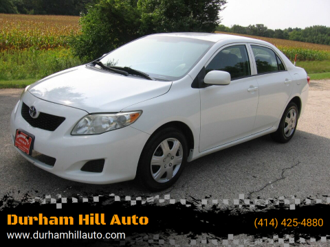 2010 Toyota Corolla for sale at Durham Hill Auto in Muskego WI