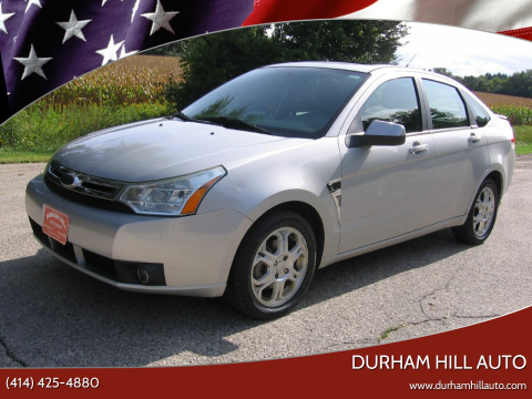 2008 Ford Focus for sale at Durham Hill Auto in Muskego WI