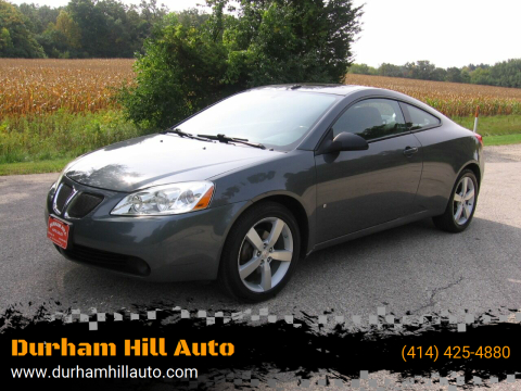 2008 Pontiac G6 for sale at Durham Hill Auto in Muskego WI